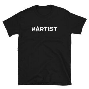 Awakenaware.com-AwakeAware-Hashtag-Artist-Tee_mockup-Front_Black